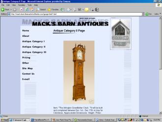 Macks Barn Clock